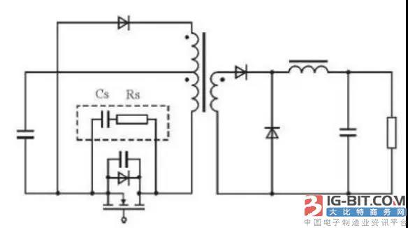 开关电源的一款尖峰吸收电路设计