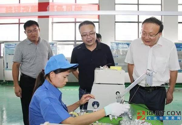 查宏督办园区新能源汽车磁性元器件等重点项目建设