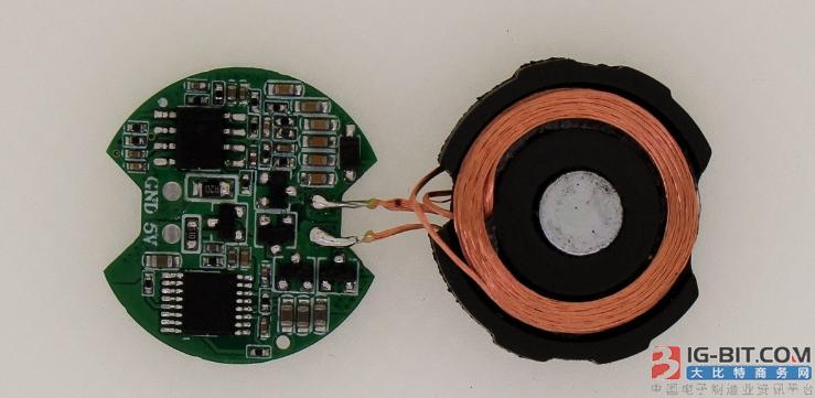华昌德推出手表无线充电专用控制板