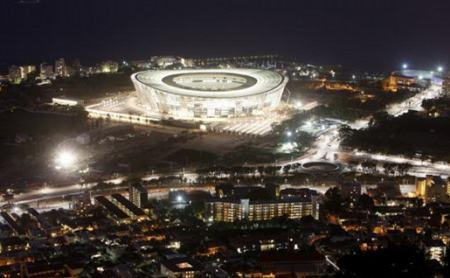 南通企业承建俄罗斯世界杯关键亮化工程