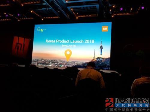 小米正式登陆韩国市场:红米Note 5打头阵