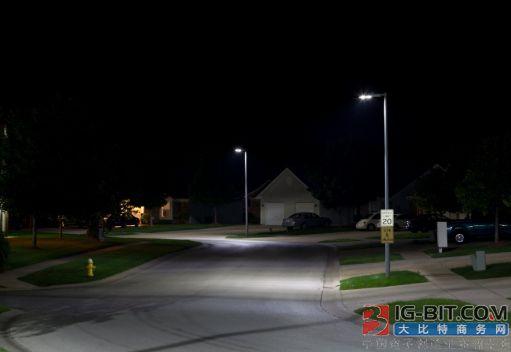 LED路灯降低能耗,美国加拿大城市推改装计划