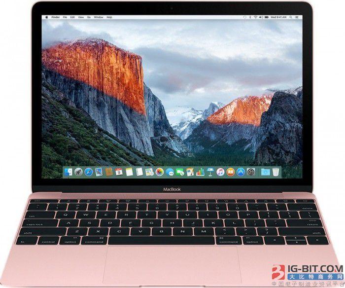 2018款12寸MacBook也即将更新 处理器信息已泄露
