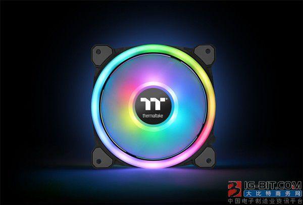 曜越发布Tt Riing Trio 12 RGB风扇