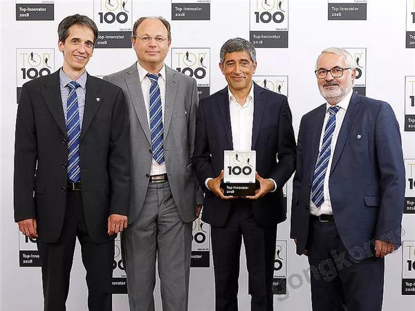 Faulhaber荣膺德国2018 TOP 100领先创新企业奖
