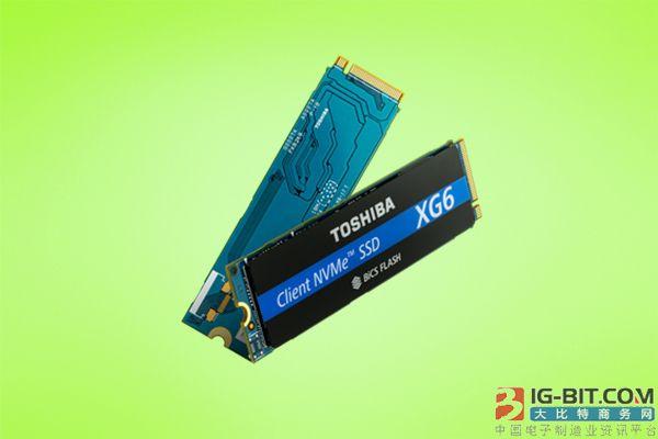 东芝推出XG6固态硬盘
