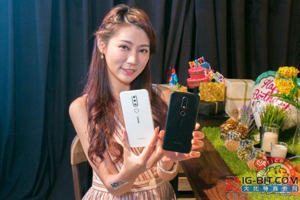 诺基亚6.1 Plus在台湾发布:骁龙636/刘海屏