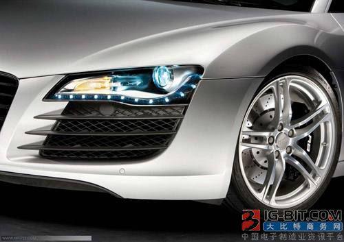台湾LED企业纷纷进军欧美汽车照明市场