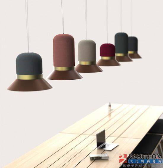 兼具照明与吸音的帽子灯