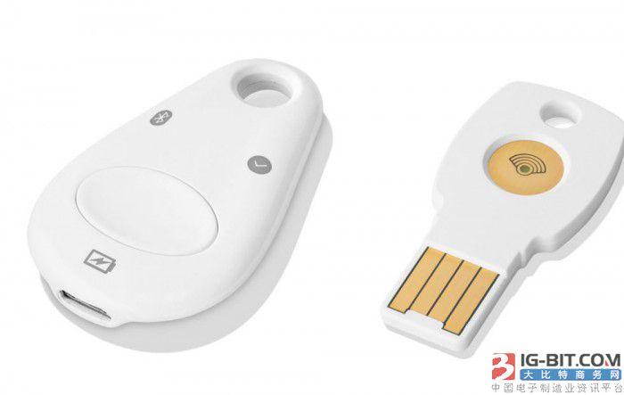 谷歌推双重认证安全密匙硬件产品