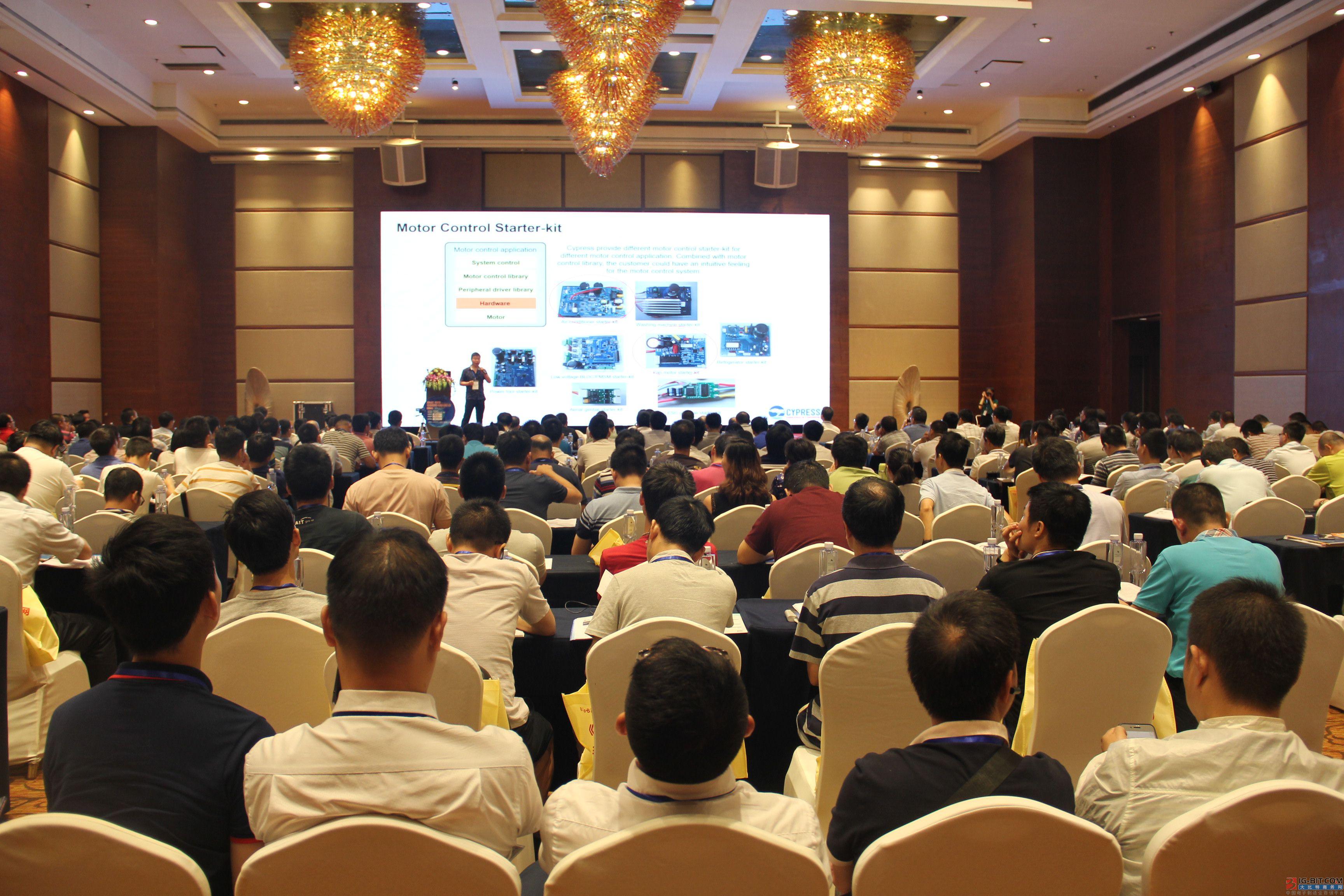 东芝恩智浦等名企齐聚深圳 共同研讨电机驱动与控制技术