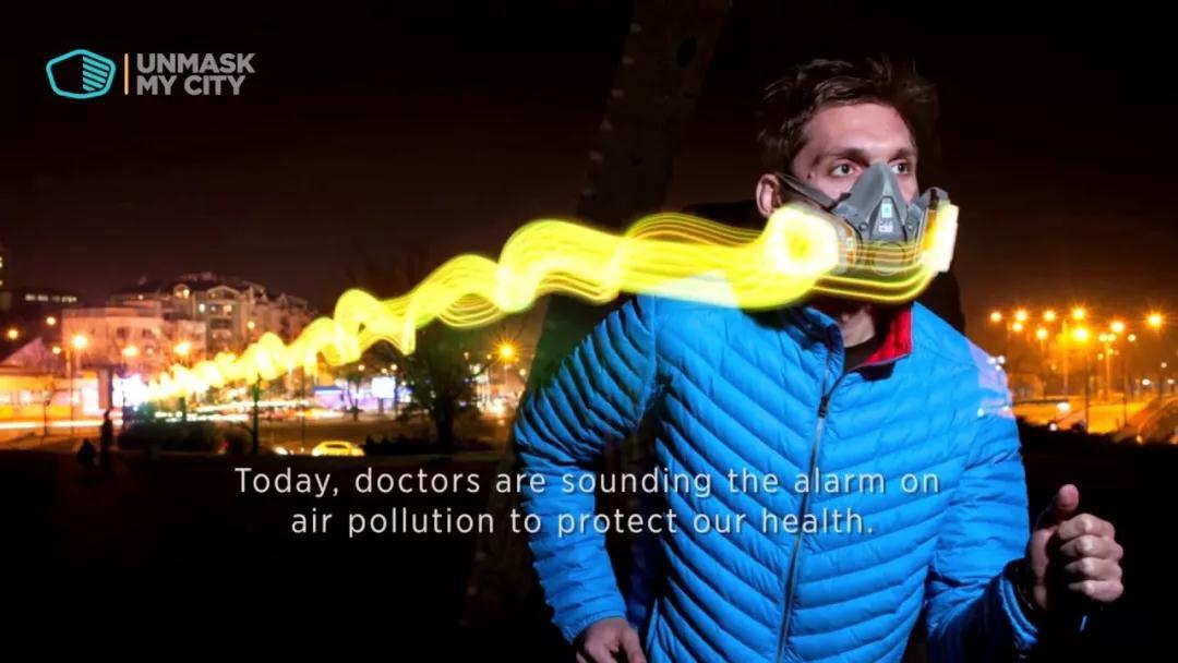 黑科技:LED发光口罩可侦测空气污染
