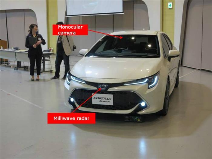 丰田为Corolla首次购买海外供应商的摄像头和毫米波设备