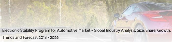 2018-2026年汽车电子稳定程序市场的发展预期