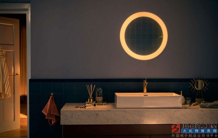 飞利浦Hue通过连接照明镜将其市场扩展到浴室