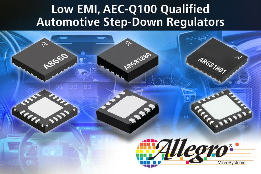Allegro扩展具有低EMI的DC/DC降压稳压器产品系列