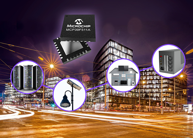 Microchip双模功率监控IC可提高系统性能