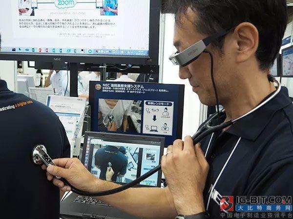 利用电子听诊器跟智能眼镜进行远程诊疗