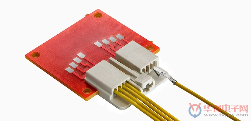 Molex推出EdgeLock线对信号卡连接器