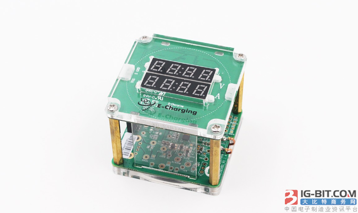 E-Charging易冲无线推出最新无线充电器测试架