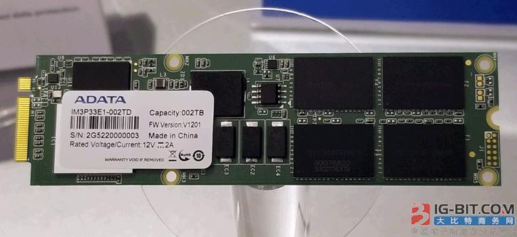 威刚发布M.3 NGSFF固态硬盘:容量翻番