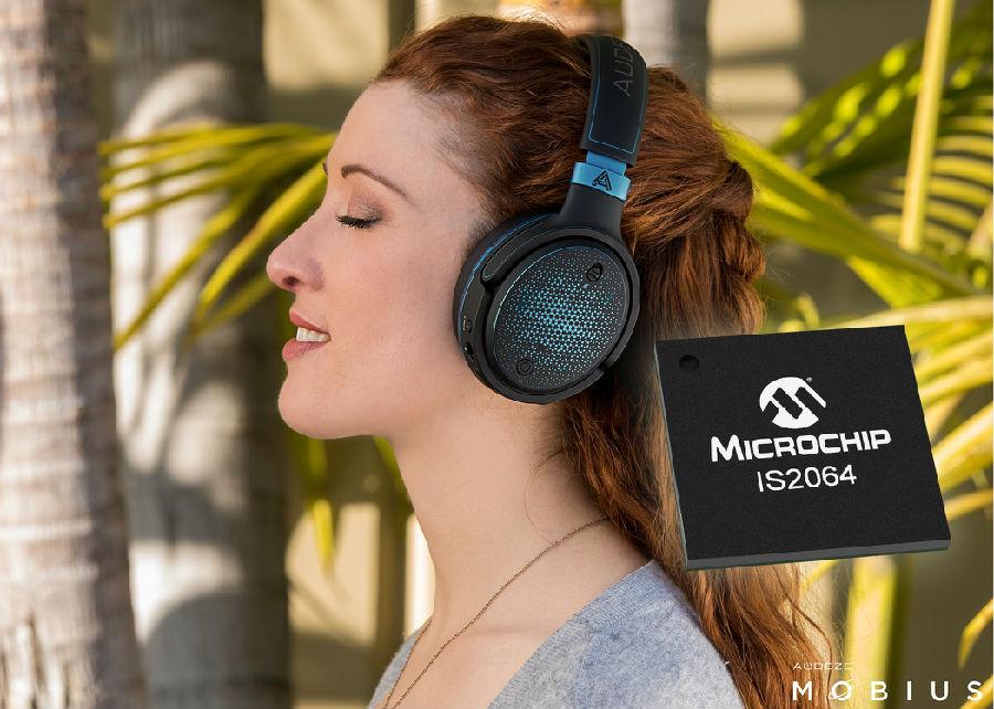采用搭载索尼 LDAC™技术的Microchip蓝牙®音频SoC打造高清音频设备