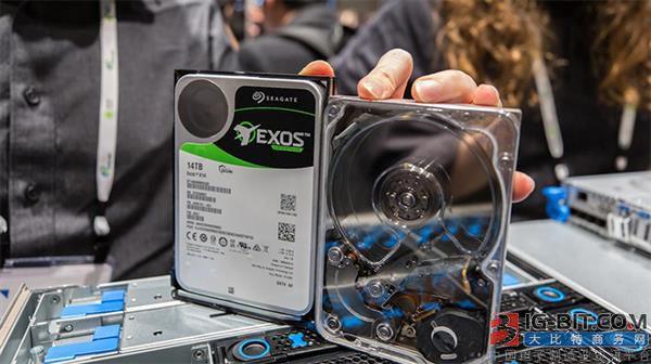 希捷展示最快的14TB机械硬盘:480MB/s 堪比SSD硬盘