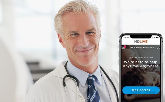MDlive获得5000万美元融资 未来或利用AI进行辅助诊疗