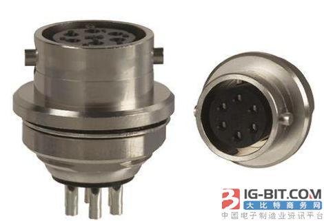 TE微型圆形连接器系列已经全球上市,适合苛刻的军事和商业应用
