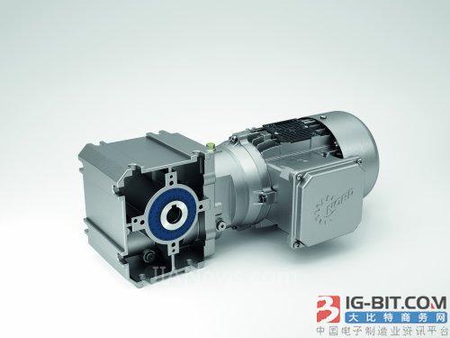 诺德推出新型SK 02040.1斜齿轮蜗轮蜗杆减速电机