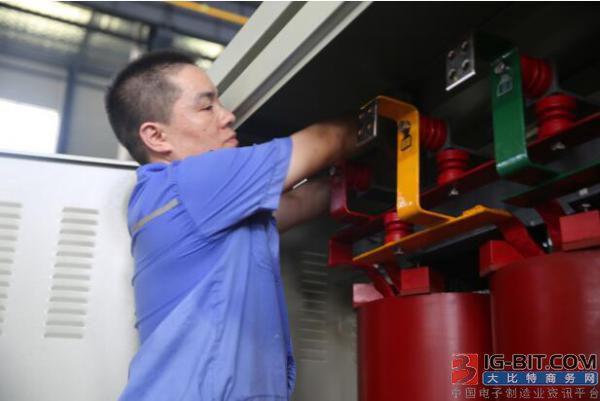 中天伯乐达变压器员工坚守平凡 成为高素质技工