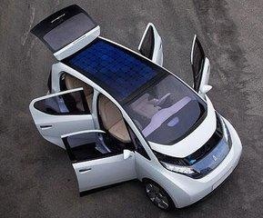告别充电桩 薄膜太阳能车顶解决电动汽车充电难题
