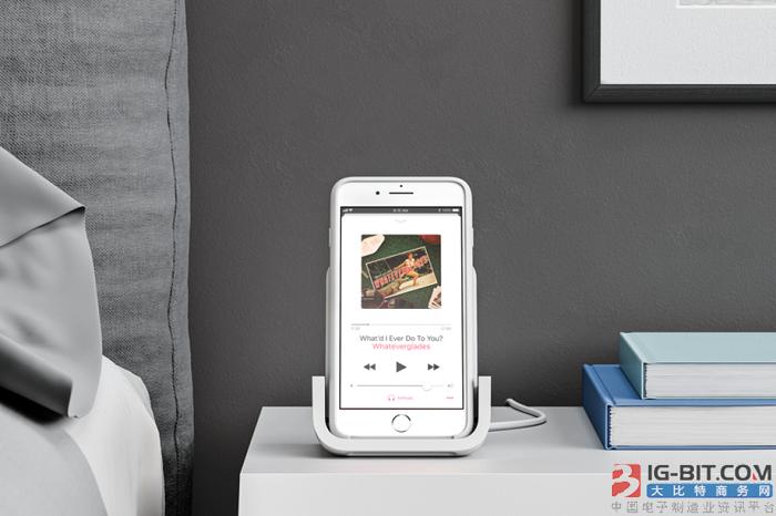 罗技推出新款无线充电器