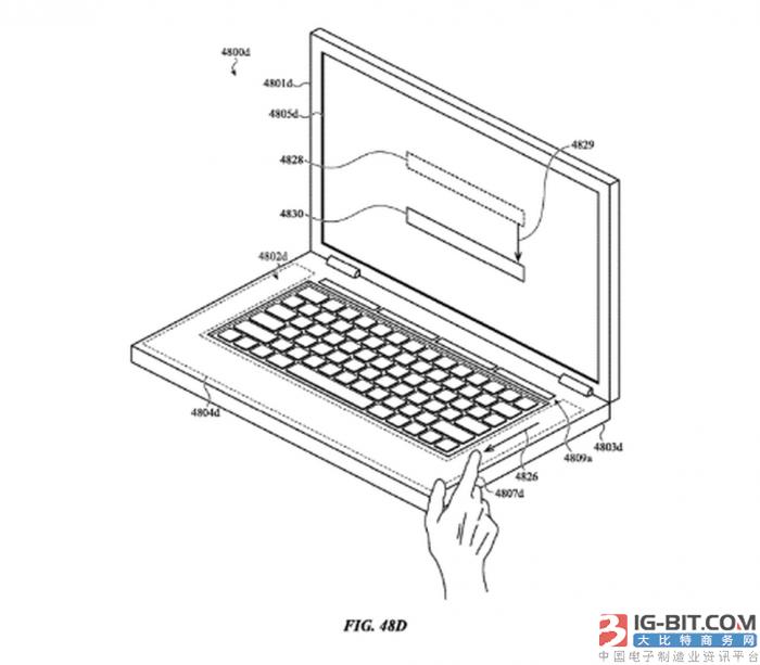 苹果新专利揭示MacBook产品未来或完全用触摸数字键取代实体键盘