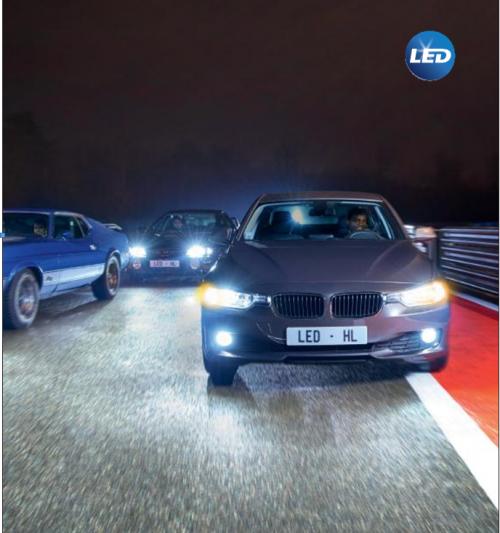 新一代飞利浦车灯LED耀白光引领汽车照明设计革命