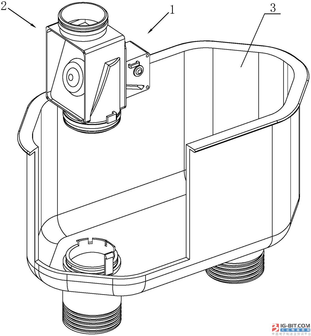 【仪表专利】一种热式燃气表的限流阀