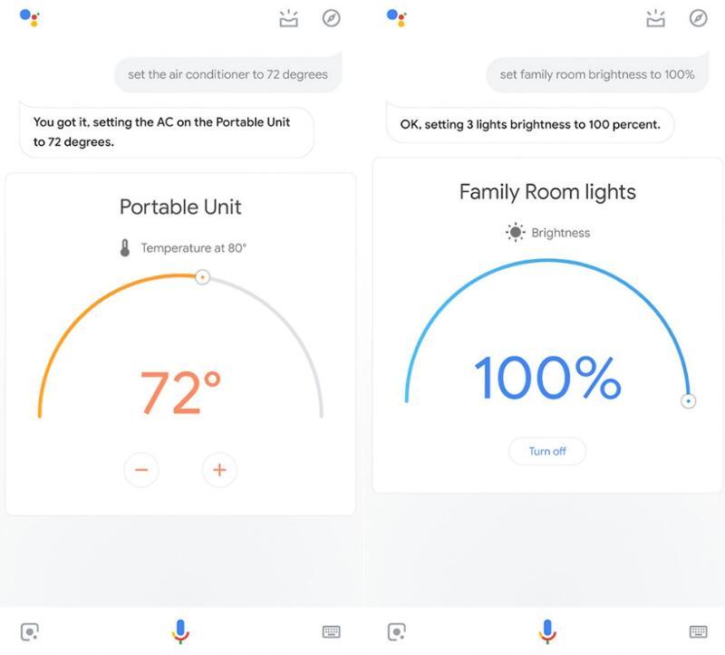 Google智能助手更新 让智能家居控制拥有更直观的视觉效果
