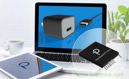 PI 宣布采用InnoSwitch3 IC的适配器设计已成功通过USB PD标准认证