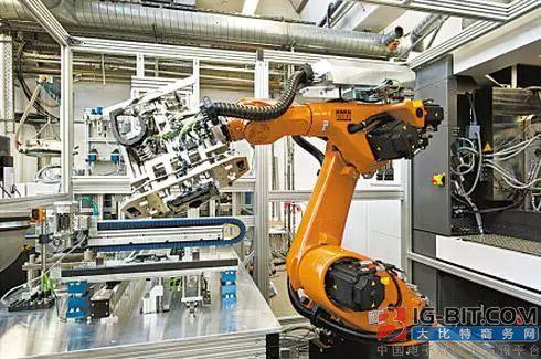 """揭秘工业机器人、PLC与自动化的""""三角""""关系"""