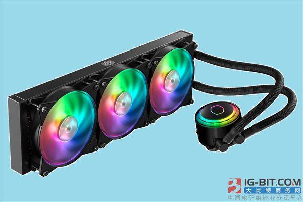 酷冷至尊发布新款RGB水冷散热器:酷炫信仰灯
