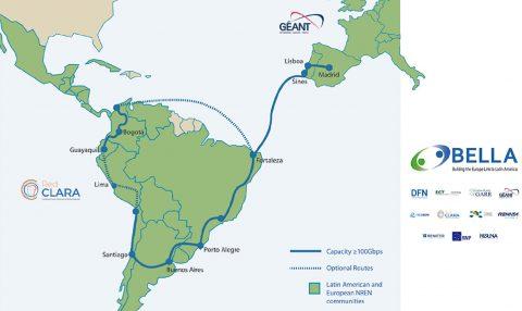 欧洲-拉丁美洲海底光缆签署合同 预计2020年投运