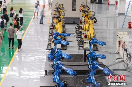 美加征关税是否影响到中国机器人生产?发改委回应