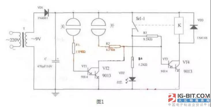 电源DIY:适合新手的模拟触控设计电路图