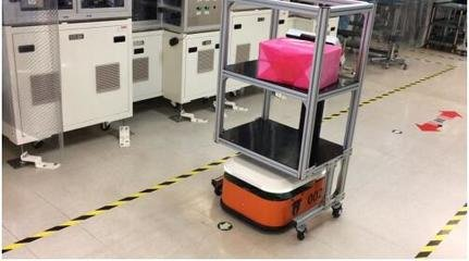 木蚁机器人发布两款新型搬运机器人