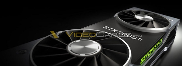 NVIDIA RTX 2080 Ti公版卡外形曝光:果然双风扇