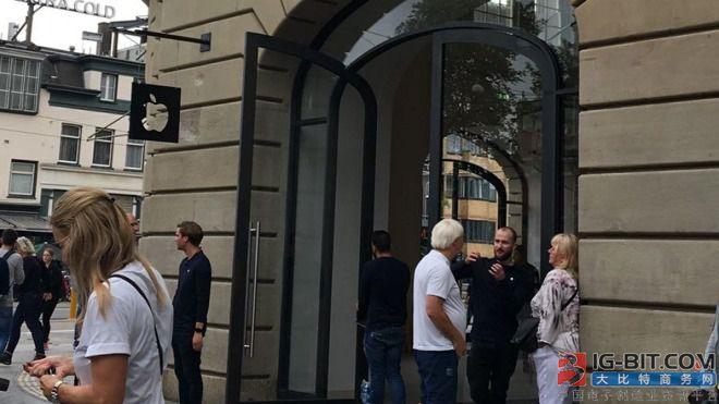 因iPad电池爆炸 这家Apple Store被暂时关闭