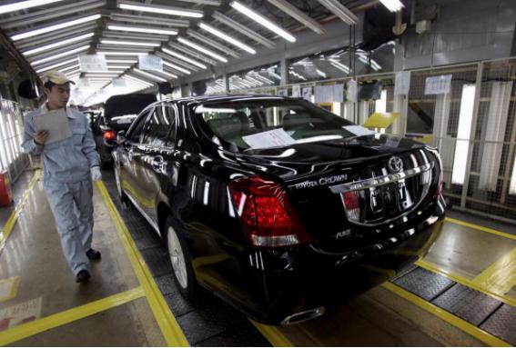 丰田计划增加广州工厂年产能 年增产12万辆