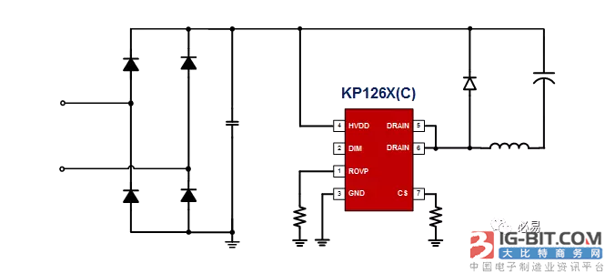 必易科技又出新产品, KP126X,HPF无贴片电容,给您的BOM减减肥~