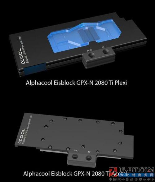 Alphacool发布RTX显卡专用水冷头:RGB信仰灯