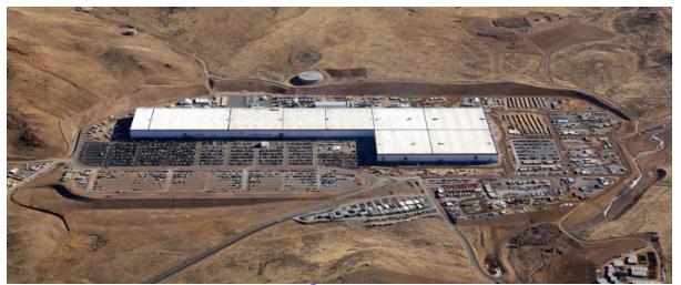 特斯拉1号超级工厂雇员超3000名 成全球最大电池工厂